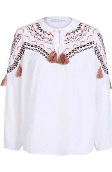 Embroidered Detailed Blouse