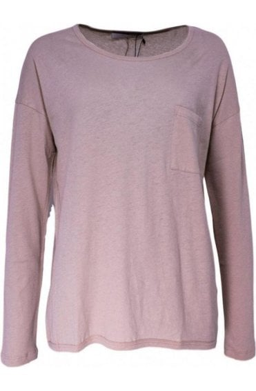 Rose Dust Jersey Top