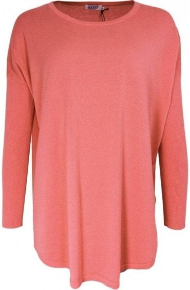 Faith Blush Fine Knit Jumper