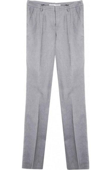 Smoked Grey Linen Trousers