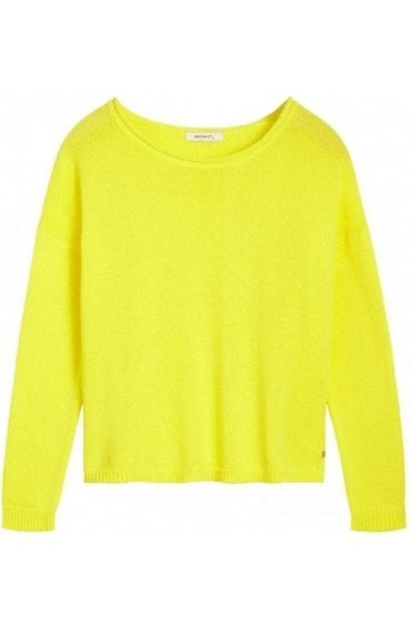 Blazing Yellow Knit Jumper