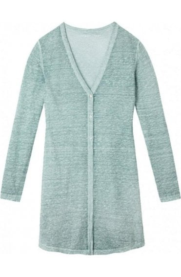 Anise Green Knit Cardigan