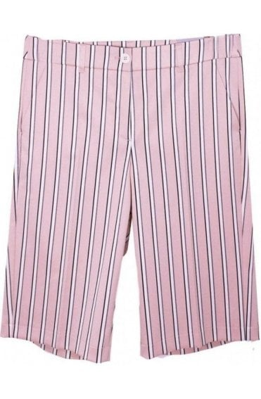 Pink Striped Shorts