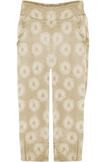 Pemca Sand Patterned Culottes