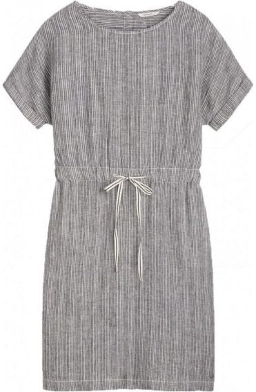 Fine Striped Linen Dress