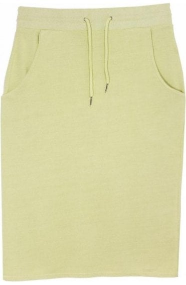 Lauren Leaf Green Jersey Skirt