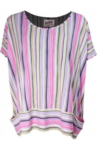 Cassandra Candy Striped Top