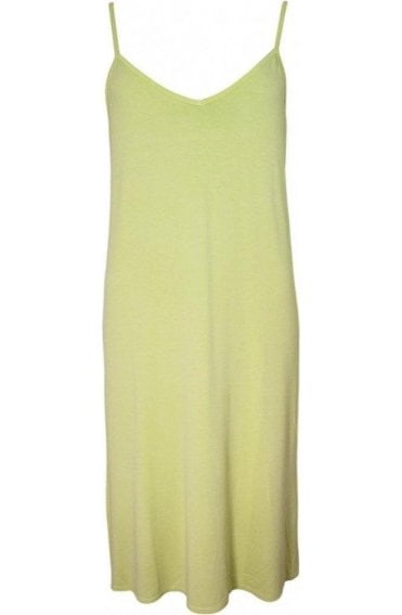 Ursula Leaf Green Jersey Dress