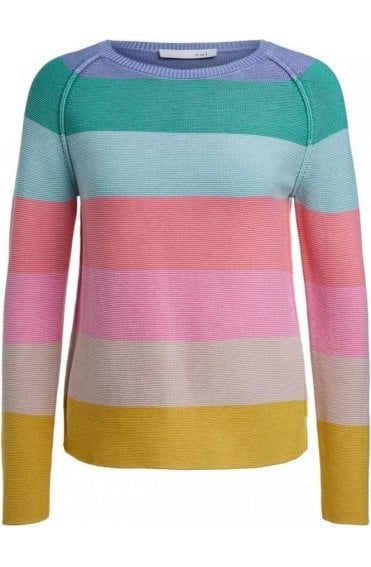 Pastel Stripe Knit Jumper