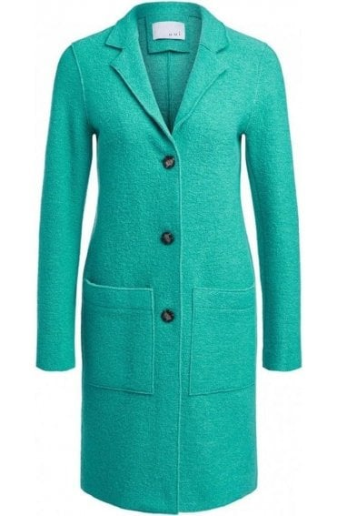 Holly Green Long Line Coat