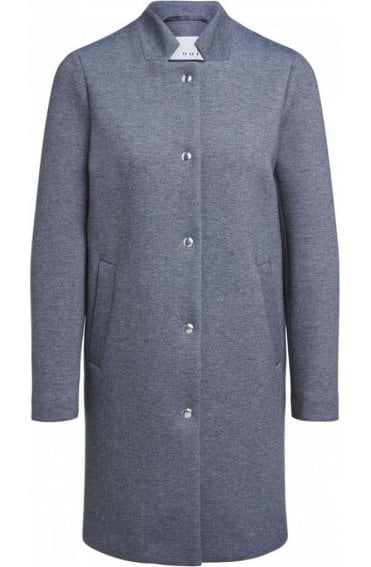 Dark Grey Marl Coat