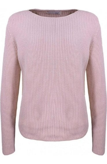 Pale Pink Knit Jumper