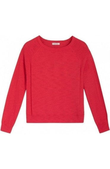 Pop Fuchsia Knit Jumper