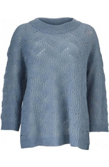 Fran Arctic Over Sized Jumper