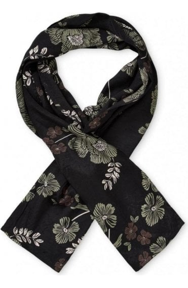 Along Floral Sea Spary Scarf