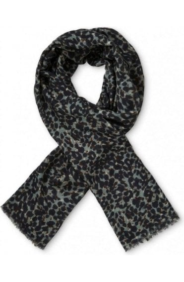 Ankara Animal print Wool Scarf