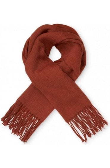 Anna Red Orchard Wool Scarf