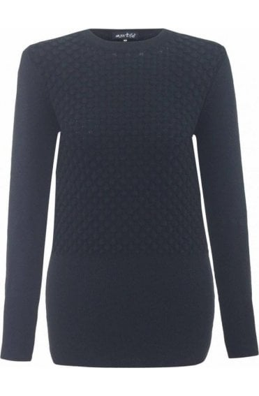 Embossed Scale Design Jumper