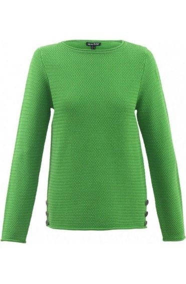 Green Knit Jumper