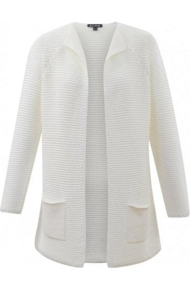 Off White Knit Cardigan