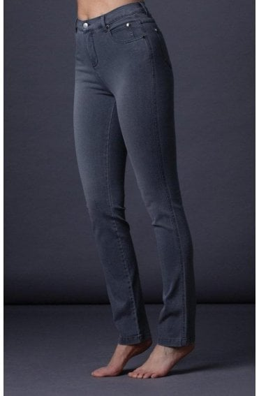 Grey denium Slim Leg Jeans