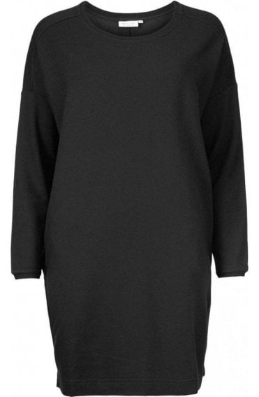 Glouisa Black Jersey Tunic