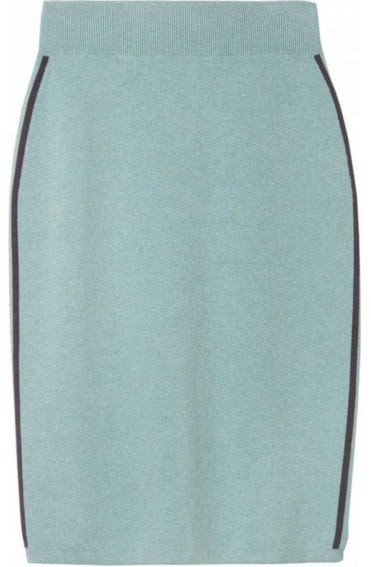 Granite Green Fine Knit Skirt