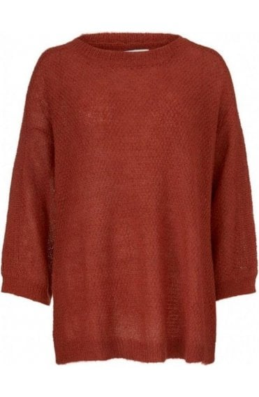 Floris red ochre jumper