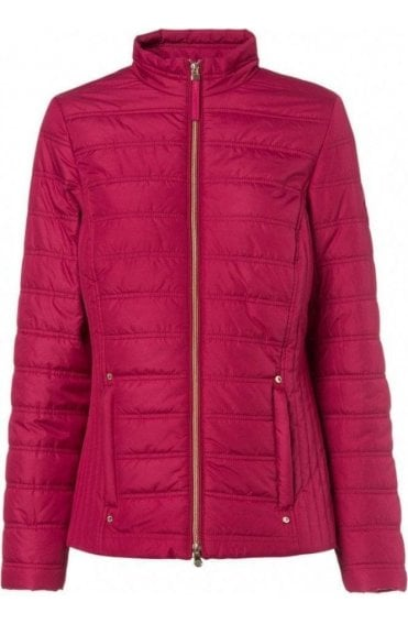Red Quilted Jacket