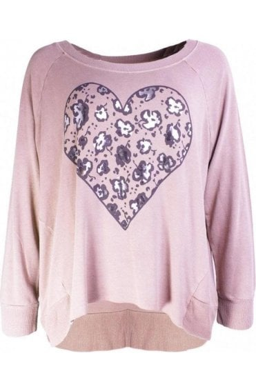 Rosewood Heart Design Top