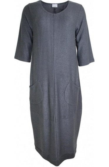 Concrete Soft Knit Dress
