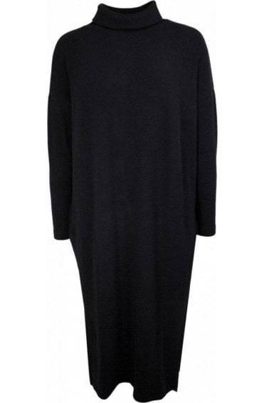 Lusaka Black Knit Dress