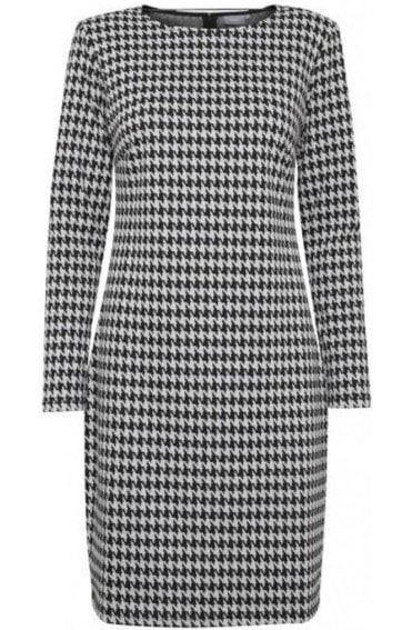 Hounds Tooth Fitted Dress
