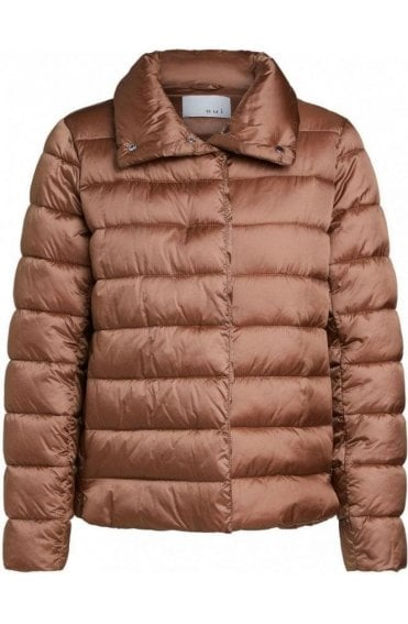 Toasted Coconut Quilted Jacket