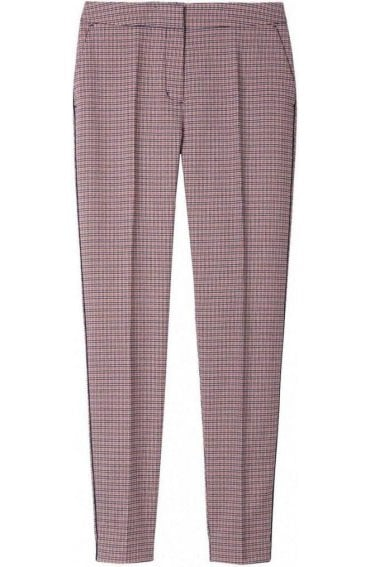 Red Clay Check Trousers