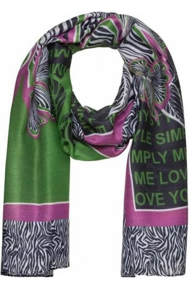 Bold Patterned Scarf