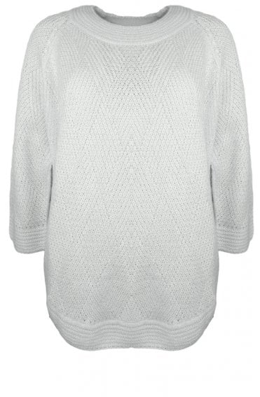 Frederikk Cream Knit Jumper