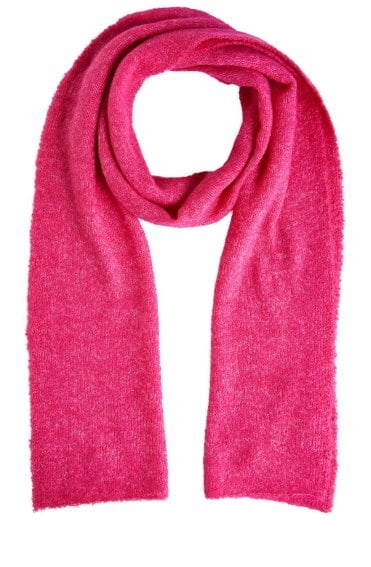 Pink Knit Scarf